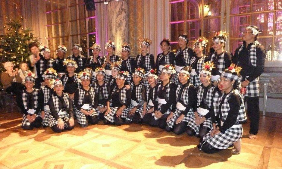 Danses Kecak Sekar Jagat Indonesia SJI danse balinaise